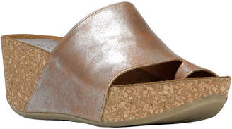 Donald J Pliner Ginie2 Leather Wedge Sandal
