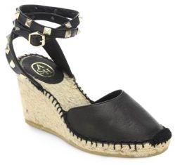 AshWinona Ankle-Strap Espadrille Wedges