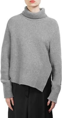 Cédric Charlier Wool Turtleneck Sweater