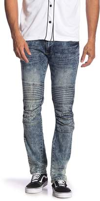 """X-Ray Xray Pintuck Pleated Jeans - 30-32"""" Inseam"""