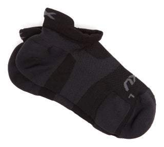 2XU Vectr Compression Ankle Socks - Mens - Black