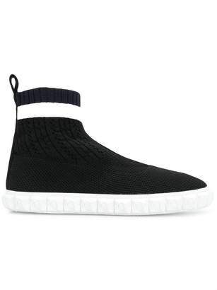 Stuart Weitzman hi-top slip-on sneakers