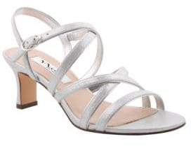 Nina Genaya Satin Sandals