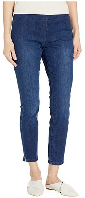 NYDJ Pull-On Skinny Ankle with Side Slit in Cooper