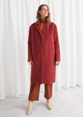 And other stories Wool Blend Long Coat