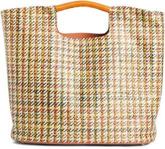 Simon Miller Large Birch Houndstooth Tote