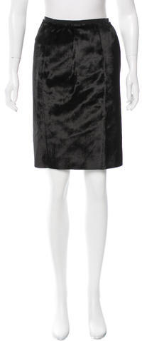 Marc Jacobs Marc Jacobs Textured Knee-Length Skirt