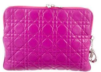 Christian Dior Cannage Tablet Case
