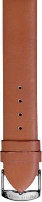 Philip Stein Teslar 20mm Calfskin Watch Strap, Light Brown