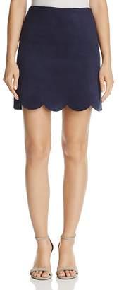 AQUA Faux Suede Mini Skirt - 100% Exclusive $68 thestylecure.com