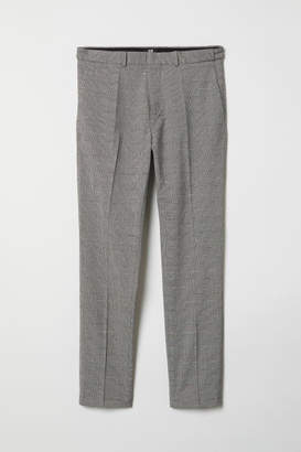 H&M Skinny Fit Suit Pants - White
