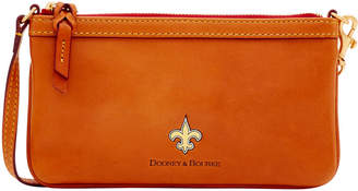 Dooney & Bourke NFL Saints Slim Wristlet