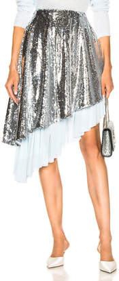 Sandy Liang Skrrt Skirt in Disco | FWRD