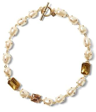 Banana Republic Embellished Pearl Necklace