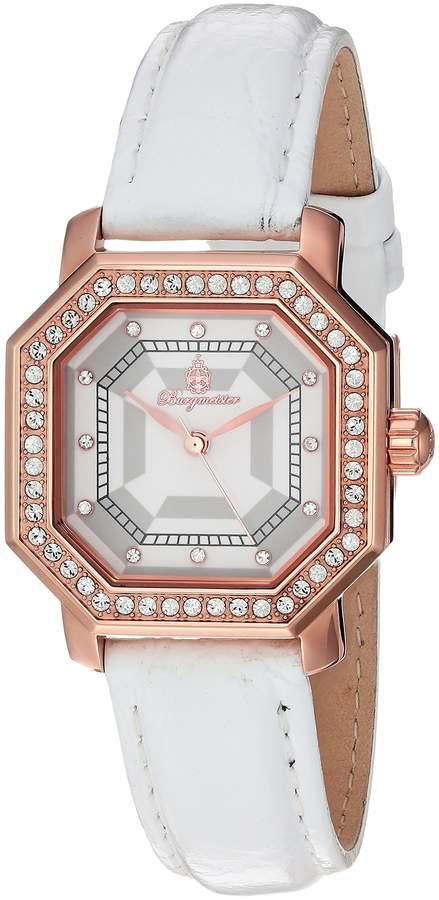 Burgmeister Women's BM168-386 Analog Display Quartz White Watch