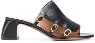 L'Autre Chose buckled mules