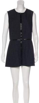Marc Jacobs Plaid Sheath Dress