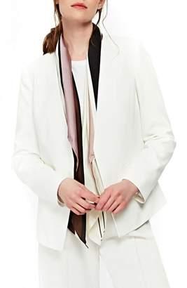 Wallis Crepe Blazer Jacket