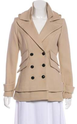 Smythe Virgin Wool Pea Coat