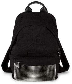 McQ Embellished Logo Backpack