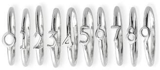 Mark And Graham Sterling Silver Numerical Ring