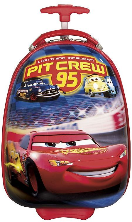 Heys Disney cars by usa, 18-in. hardcase wheeled carry-on - kids luggage
