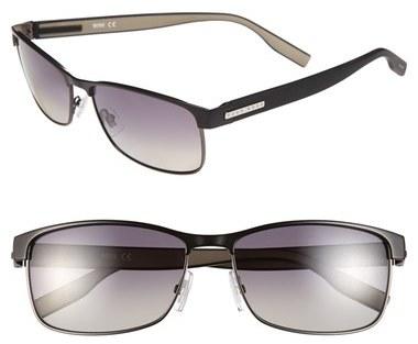 BOSS 58mm Polarized Sunglasses