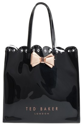 Ted Baker London Bow Detail Large Icon Bag - Black $59 thestylecure.com