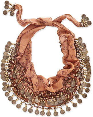 Patricia Nash Italian Coin Collection Scarf $69 thestylecure.com