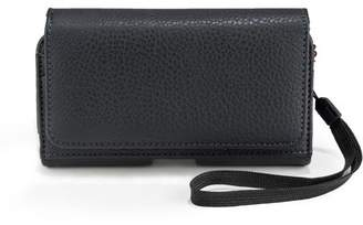 SUMACLIFE Universal Black Dual Wallet Holster with Belt Loop Carrying Case, Large