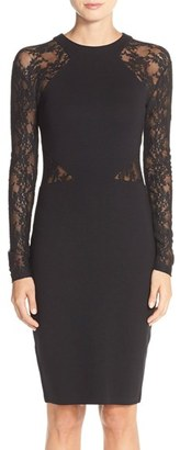 Women's French Connection 'Viven' Lace Long Sleeve Sheath Dress $158 thestylecure.com