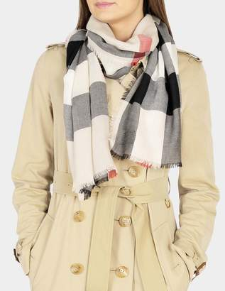Burberry Lightweight Mega Check scarf