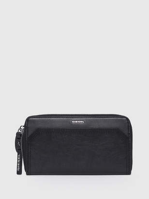 Diesel Zip-Round Wallets P1743 - Black