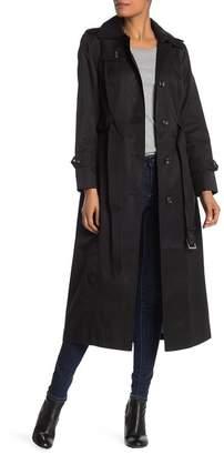 London Fog Missy Long Trench Coat
