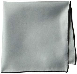 Buttoned Down Men's Classic Silk Hand Rolled Pocket Square