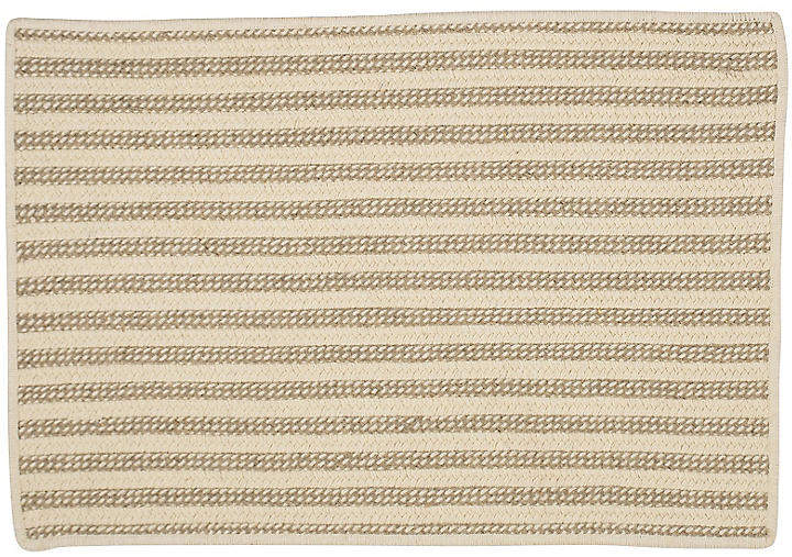 Abilene Braided Rug – Natural – 6'x9′
