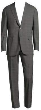 Brioni Regular-Fit Plaid Wool Suit