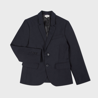 Boys' 2-6 Years Navy Wool 'Lord' Blazer $290 thestylecure.com