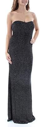 Jump Junior's Strapless Glitter Slinky Long Prom Dress
