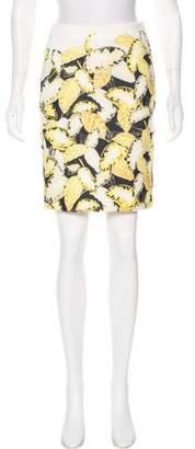 Opening Ceremony Neoprene Knee-Length Skirt
