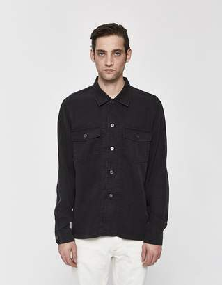 Our Legacy Chamois Button Up Shirt in Black