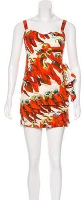Dolce & Gabbana Hot Pepper Mini Dress
