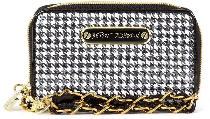 Betsey Johnson Handbag, Wallet Wristlet