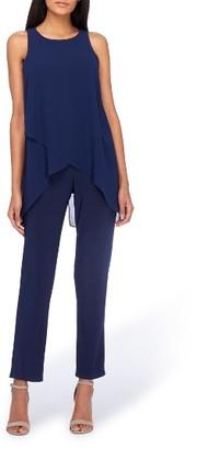 Women's Tahari Chiffon Popover Jumpsuit $134 thestylecure.com