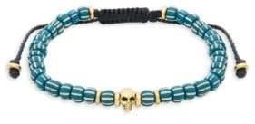 Saks Fifth Avenue Link Up Beaded Adjustable Bracelet