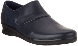 Clarks Leather Slip-on Shoes - Hope Race
