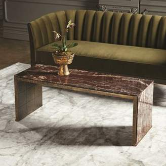 Global Views Waterfall Coffee Table with Tray Top