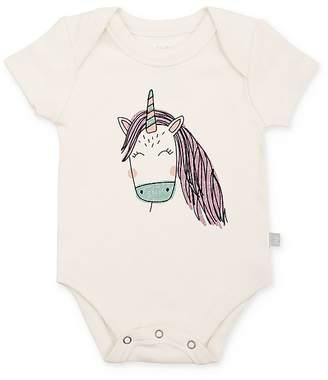Finn & Emma Girls' Unicorn Bodysuit - Baby