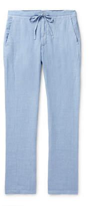 120% Linen Drawstring Trousers