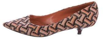 Missoni Knit Pointed-Toe Pumps